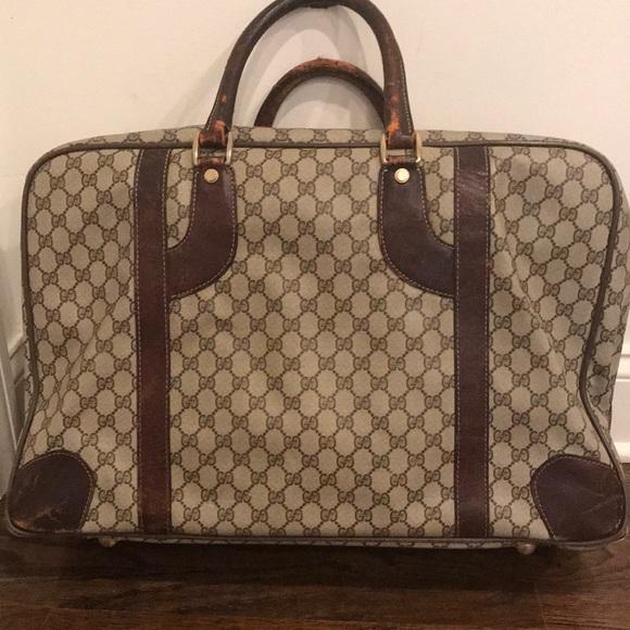 e24d5d06ef6 Gucci Handbags - Vintage Gucci Suitcase. A Collectors Item.